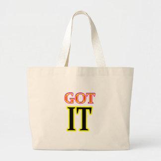 Jgibney conseguido del arte IT3 los regalos de Bolsas Lienzo