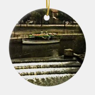 jGibney de Inglaterra 1986 snap-11510art del baño Adorno Redondo De Cerámica