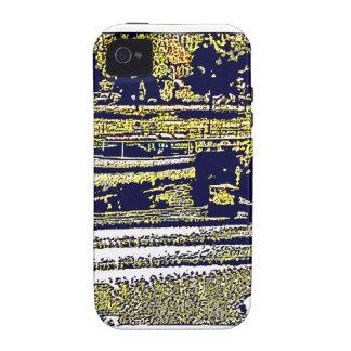 jGibney de Inglaterra 1986 snap-11510artBlue del iPhone 4 Carcasas