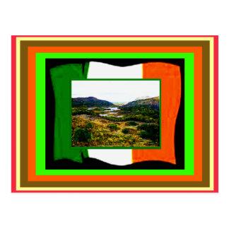 jGibney de la bandera y de Irlanda de UCreate del Postales