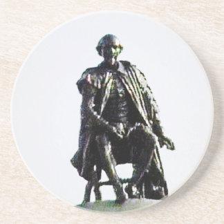 jGibney de la estatua de Stratford-sobre-Avon Posavasos Manualidades