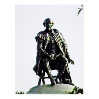 jGibney de la estatua de Stratford-sobre-Avon Postal