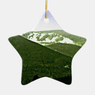 jGibney de las montañas snap-36466a3 de Escocia Adorno Navideño De Cerámica En Forma De Estrella