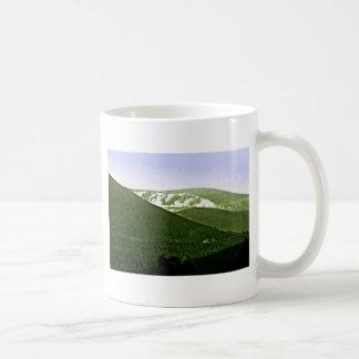 jGibney de las montañas snap-36466a3 de Escocia Taza Básica Blanca