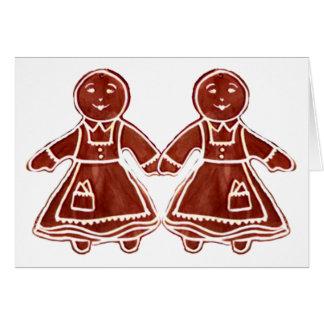 jGibney de los chicas de los niños del pan de Tarjeta De Felicitación