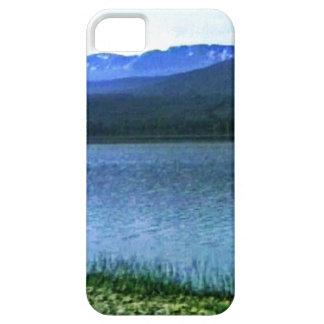 jGibney del arte -36909a1 de las montañas de iPhone 5 Case-Mate Cobertura