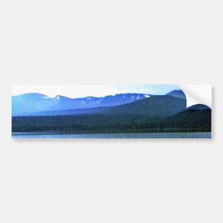 jGibney del arte -36909a1 de las montañas de Pegatina Para Coche