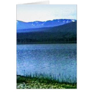 jGibney del arte -36909a1 de las montañas de Tarjeta De Felicitación