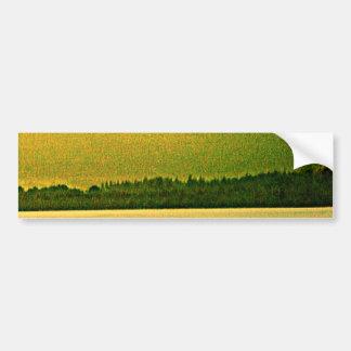jGibney del arte 37319a1 de las montañas de Pegatina Para Coche