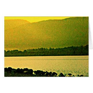 jGibney del arte 37319a1 de las montañas de Tarjeta De Felicitación