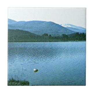 jGibney del arte snap36688 de las montañas de Azulejo Cuadrado Pequeño