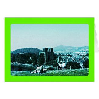 jGibney del arte snap-38784 del castillo de Tarjeta De Felicitación