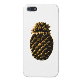 jGibney del oro de la piña de la hospitalidad El iPhone 5 Funda