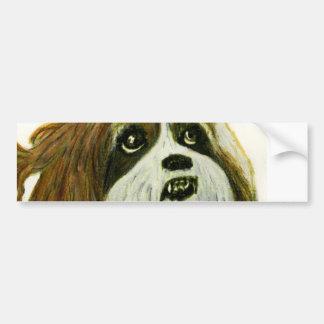 jGibney del perrito de MURPHY los regalos de Pegatina Para Coche