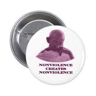 jGibney magenta del Nonviolence el regalo de Pin