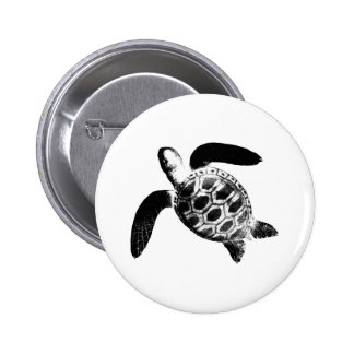 jGibney negro de la tortuga los regalos de Zazzle Chapa Redonda 5 Cm