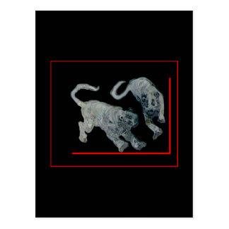 jGibney rojo 2002 del huésped de los tigres del Postal