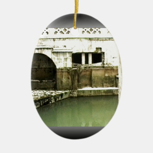 jGibney romano de Inglaterra 1986 Bath1b Ornamento Para Reyes Magos
