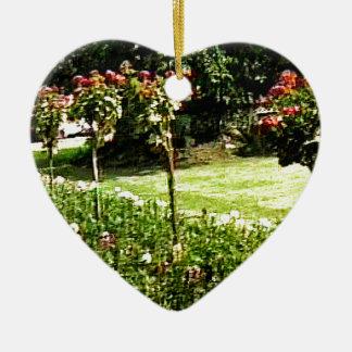 jGibney subió jardín snap-29602 de Adorno Navideño De Cerámica En Forma De Corazón