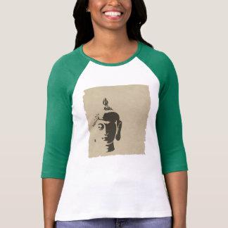 Ji retra de moda del inconformista del arte de camiseta