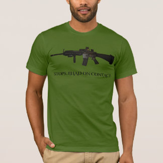 Jihad de las paradas en el contacto M4 Camiseta