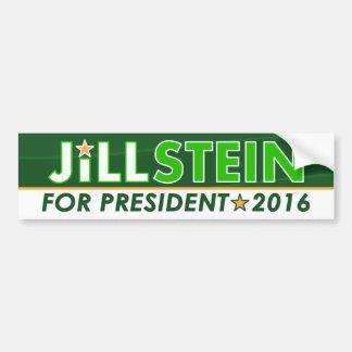 Jill Stein - pegatina para el parachoques política Pegatina Para Coche
