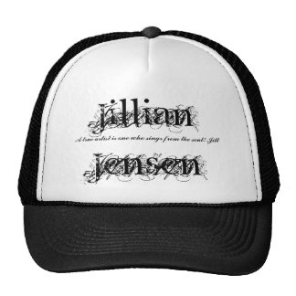 Jillian Jensen, artista verdadero de A es o… - Mod Gorra