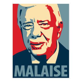 Jimmy Carter - malestar: Postal de OHP