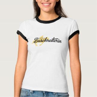 Jinete de arbusto camiseta