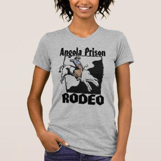 Jinete de Bull del rodeo de la prisión de Angola Camisetas