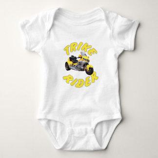 Jinete de Trike en amarillo Body Para Bebé