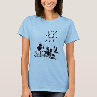 Jinete del desierto camiseta