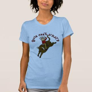 Jinete ligero de Bull Camisetas