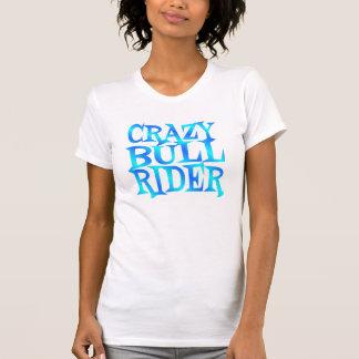 Jinete loco de Bull Camiseta