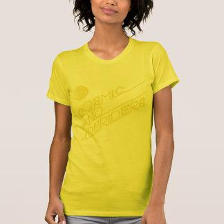 Jinetes cósmicos de la alegría camiseta