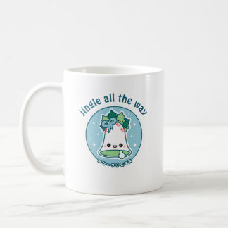 Jingle Bell lindo Taza De Café