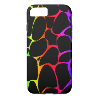 Jirafa del arco iris funda iPhone 7