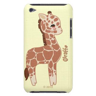 Jirafa linda iPod touch Case-Mate protector