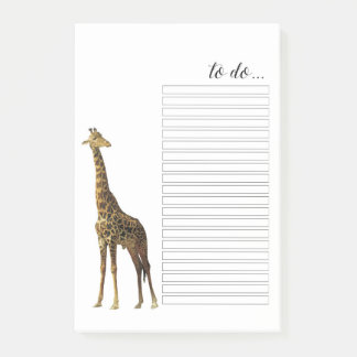 Jirafa para hacer notas del Poste-it® de la lista
