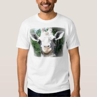 jirafa sonriente camisas