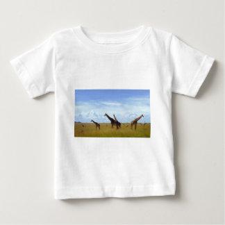 Jirafas africanas del safari camisetas
