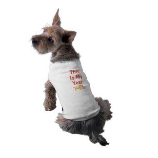 Jitaku esto es mi camisa del mascota del año