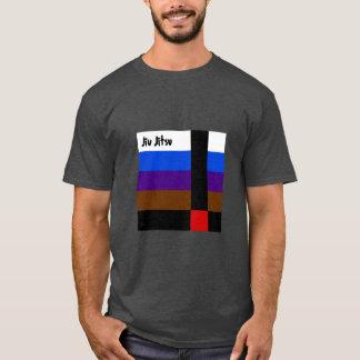 Jiu Jitsu ceñe la camiseta