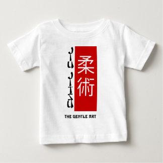 Jiu Jitsu - el arte apacible Camiseta De Bebé