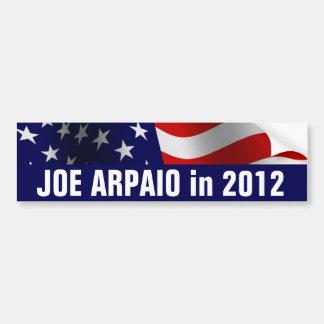 Joe Arpaio en 2012 Etiqueta De Parachoque