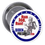 Joe Biden para el presidente 2016 Chapa Redonda De 7 Cm