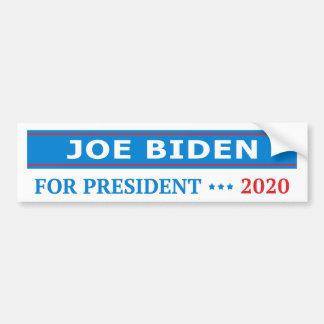 Joe Biden para el presidente 2020 azul claro Pegatina Para Coche