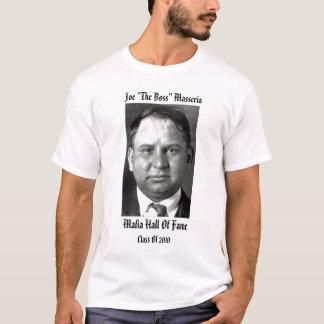 """Joe """"el salón de la fama de la mafia de Boss"""" Camiseta"""