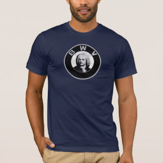 Johann Sebastian Bach Camiseta