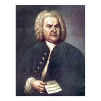 ¿Johann Sebastian Bach im Jahre 1746, mit R? Postal